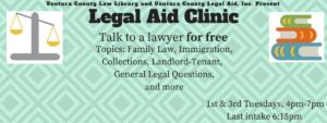 Legal Aid Clinic Info