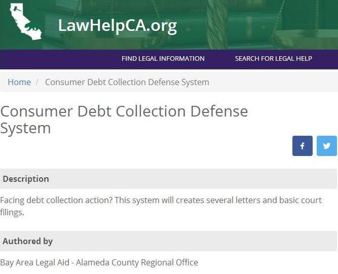 Interactive Debt Collection Defense System